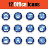 Office icon set. Royalty Free Stock Photography
