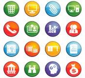 Office icon set Stock Image