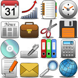 Office Icon Set [1] Royalty Free Stock Photo