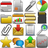 Office Icon Set [2] Stock Image