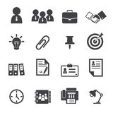 Office icon Royalty Free Stock Photography