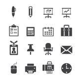 Office icon. Web icon symbol design illustrator Stock Photos