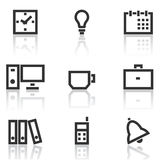 Office icons Stock Image
