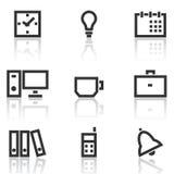 Office icons stock illustration