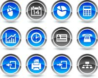 Office icons. Stock Image