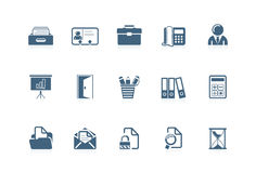 Office icons 2 | piccolo series Stock Photos
