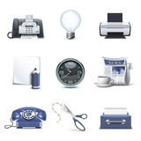 Office icons   Bella series Royalty Free Stock Photos