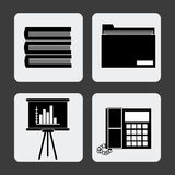 Office icons desgin Stock Photo