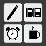 Office icons desgin Royalty Free Stock Image