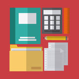 Office icons desgin Stock Images