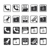 Office Icons. Office icon suitable for web, presentation etc Royalty Free Stock Photo