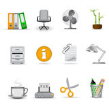 Office icons, part 1 Stock Images