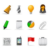 Office icons, part 2 Stock Photos