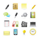 Office Icons Set 2 Royalty Free Stock Images