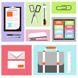 Office Icons Set Stock Image
