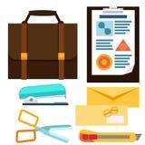 Office Icons Set Stock Photo