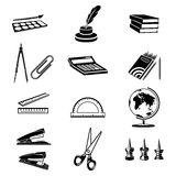 Office icons set Stock Photo