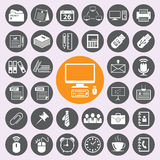 Office Icons set.vector/eps10. Office Icons set.vector/illustration Stock Images