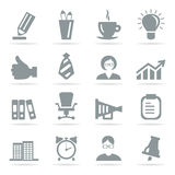 Office icons8 Royalty Free Stock Image