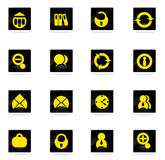 Office icons set Royalty Free Stock Image