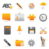 Office Icons | Yellow 09 Stock Images
