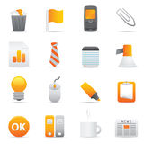 Office Icons | Yellow 10 Royalty Free Stock Image
