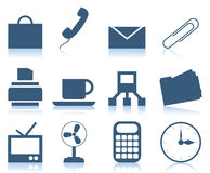 Office icons2 Stock Photos
