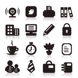 Office icons6 Royalty Free Stock Photography