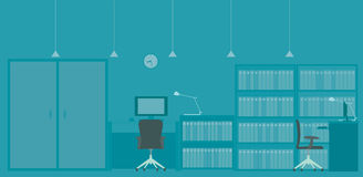 Office illustration Stock Image