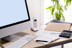 Office image Royalty Free Stock Image