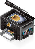 Office InkJet Printer Royalty Free Stock Photo