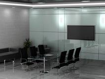 Office interior royalty free illustration