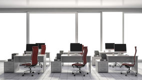 Free Office Interior. 3D Illustration Royalty Free Stock Photos - 73790268