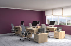 Free Office Interior. 3D Illustration Royalty Free Stock Images - 73790579