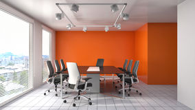 Free Office Interior. 3D Illustration Royalty Free Stock Image - 74440336