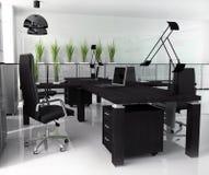 Office interior. New modern office 3d rendering