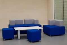 Office interior. Empty office interior with modern furniture royalty free stock photos