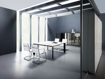 Office interior design Stock Photo
