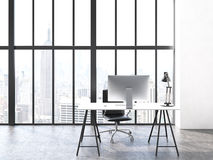 Office interior front Royalty Free Stock Photo