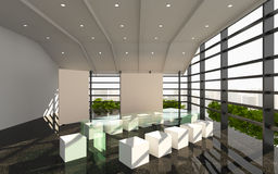 Office interior modern Stock Photography