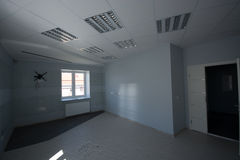 Office interior, modern constructions Royalty Free Stock Images