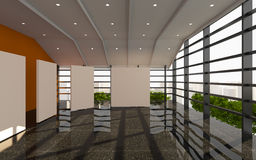 Office interior modern Stock Images