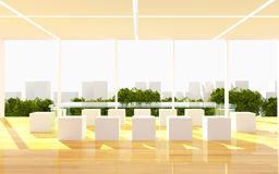 Office interior modern Stock Photo