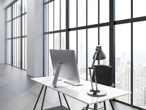 Office interior side Stock Images