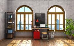 Office interior Studio. Royalty Free Stock Photo