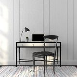 Office interior in a stylish black and white colors Royalty Free Stock Photography