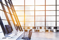 Office interior toning Royalty Free Stock Photo