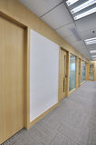 Office interior in wide Stock Images