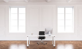Office interior with workspace Stock Photos