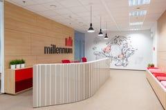 Office interiors created by Kivvi architects, Bratislava, Slovakia Royalty Free Stock Images